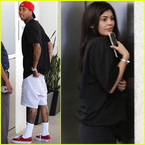 Kylie Jenner Runs Errands With Tyga After Calling Him Her 'Husband'