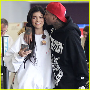Kylie Jenner & Tyga Pack on the PDA!
