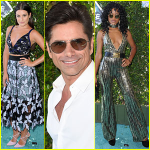 Lea Michele, John Stamos, & Keke Palmer Rep 'Scream Queens' at Teen Choice Awards 2016!