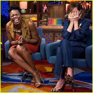 Ghostbusters' Leslie Jones & Kristen Wiig Reveal Deceased Celebrities They Want to Sleep With