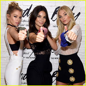 Lily Aldridge, Elsa Hosk & Stella Maxwell Launch Victoria's Secret's 'Easy' Collection!