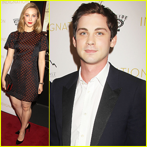 Logan Lerman & Sarah Gadon Bring 'Indignation' To NYC - Watch New Clip!