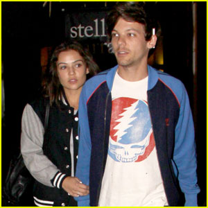 Louis Tomlinson & Danielle Campbell Have a Movie Date in Hollywood