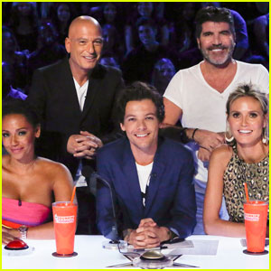Watch an Exclusive Clip of Louis Tomlinson as a Guest Judge on 'America's Got Talent'!