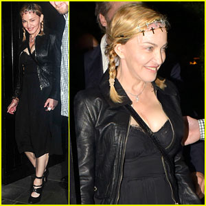 Madonna Enjoys a Night on the Town with Son Rocco Ritchie
