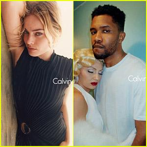 Margot Robbie & Frank Ocean Star in Latest Calvin Klein Ads