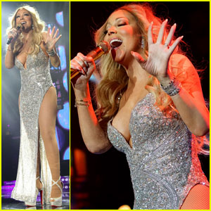 Mariah Carey Glitters on Stage at Essence Festival 2016