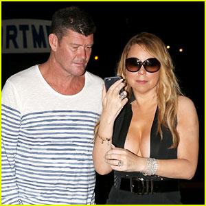 Mariah Carey & James Packer Grab Dinner in St. Tropez!
