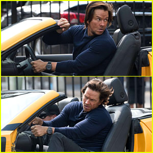 Mark Wahlberg Films Action Scenes for 'Transformers: The Last Knight'!
