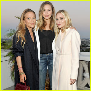 Mary-Kate & Ashley Olsen Get Support from Sister Lizzie at Elizabeth and James Store Opening