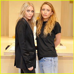 Mary-Kate & Ashley Olsen Celebrate Elizabeth and James Brick & Morter Store!