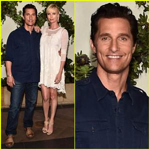 Matthew McConaughey & Charlize Theron Promote Upcoming Animated Film 'Kubo'