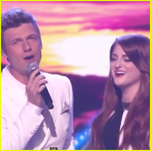 Meghan Trainor Performs With Backstreet Boys on 'Greatest Hits'