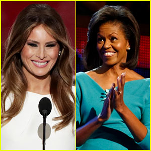 Melania Trump & Michelle Obama's Speeches Compared: See Them Side By Side