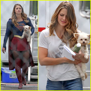 Melissa Benoist Suits Up For 'Supergirl' Season 2!