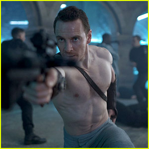 Michael Fassbender Goes Shirtless For New Assassin S Creed Still