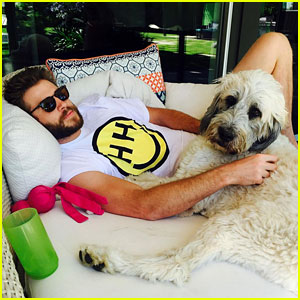 Miley Cyrus Makes Things Instagram Official with Liam Hemsworth!