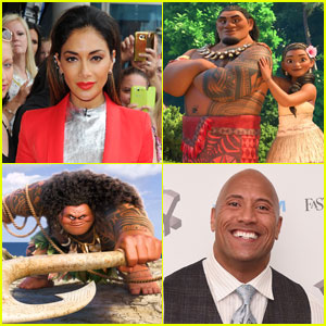 Nicole Scherzinger Joins Dwayne Johnson in Disney's 'Moana'