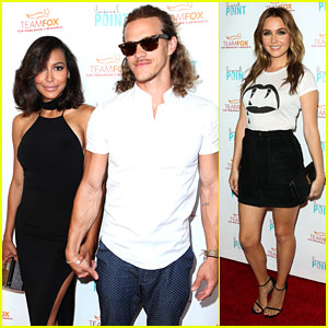 Naya Rivera & Ryan Dorsey Couple Up For 'Raising The Bar' Parkinson's Fundraising Event