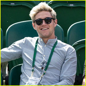 Niall Horan Shows Off His New Haircut at Wimbledon