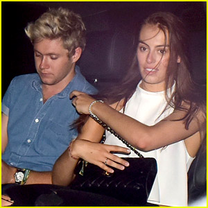Niall Horan Flaunts PDA with New Girlfriend Celine Helene Vandycke