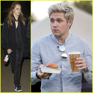 Niall Horan & Suki Waterhouse Check Out the Florence + the Machine Concert!