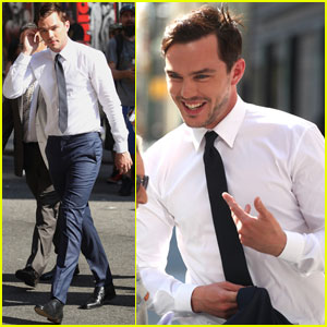Nicholas Hoult Opens Up About Falling in Love for the First Time