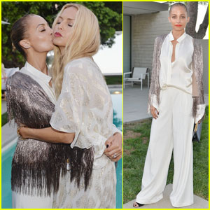 Nicole Richie Celebrates Rachel Zoe's Net-a-Porter Collection