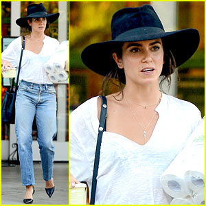 Nikki Reed Gets Some Grocery Shopping Done in WeHo!