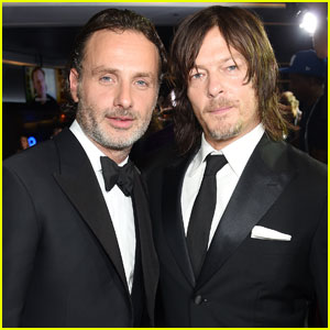 Watch Norman Reedus Glitter-Bomb Andrew Lincoln!