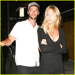 Patrick Schwarzenegger Dines Out With Abby Champion After A SoulCycle Workout