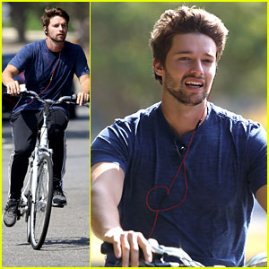 Patrick Schwarzenegger Hikes In Idado Before Biking Around Malibu