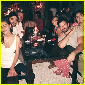 Paul Wesley & Phoebe Tonkin Go On Vacation with Austin Nichols & Chloe Bennet!