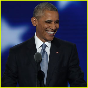 President Obama Praises Hillary Clinton & Slams Donald Trump in Democratic National Convention Speech (Video)