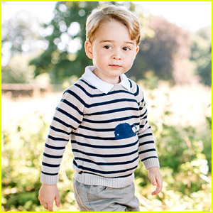 Prince George Gets New Portraits for His Third Birthday!
