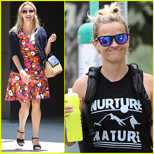 Reese Witherspoon Hits the Gym & Gets Back to Business After Her Vacation!