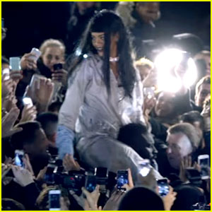 Rihanna Is Swept Away by Fans in 'Goodnight Gotham' Video