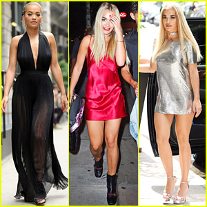 Rita Ora Kicks Off Work as 'America's Next Top Model' Host
