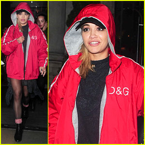 Rita Ora Steps Out After Her Brief Hospitalization