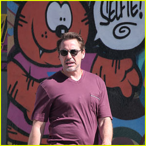Robert Downey Jr. is Ready for Jury Duty!