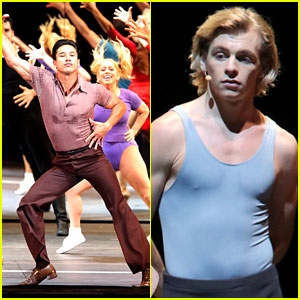 Mario Lopez & Ross Lynch Dance Up a Storm for 'A Chorus Line' at Hollywood Bowl!