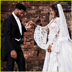 Russell Wilson Talks About His Wedding to Ciara for First Time