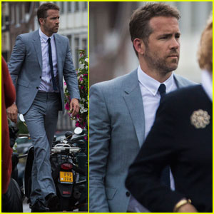 Ryan Reynolds Heads to Amsterdam to Film 'The Hitman's Bodyguard'