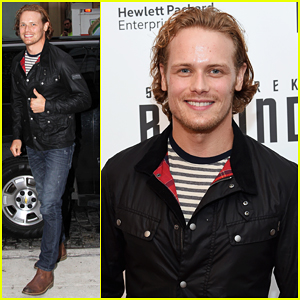 Sam Heughan Steps Out Solo For 'Star Trek Beyond' Premiere!