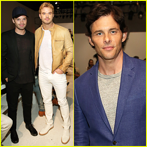 Sebastian Stan, James Marsden & Kellan Lutz Make It A Stud Fest At Todd Snyder Fashion Show!