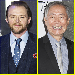 Simon Pegg 'Respectfully' Disagrees With George Takei Calling Gay Sulu 'Unfortunate'