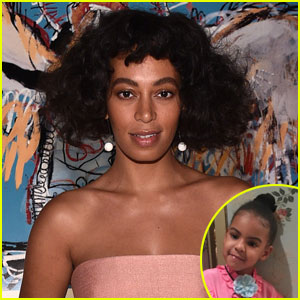 Solange Knowles Shares Cute New Photos of Niece Blue Ivy!