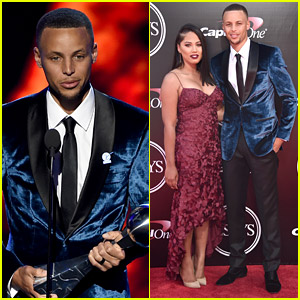 Stephen Curry & Wife Ayesha Hit the ESPYs 2016 Red Carpet!