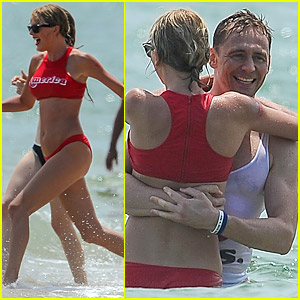 Taylor Swift & Tom Hiddleston Hug, Hold Hands at Pre-July 4th Party (New Photos)