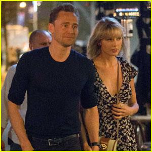 Taylor Swift & Tom Hiddleston Couple Up for Santa Monica Date